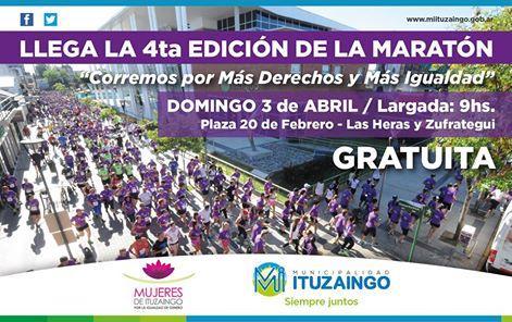 Se abrió la inscripción para la maratón anual que organiza el Consejo de la Mujer