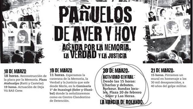Ituzaingó se suma a la conmemoración de los 40 años del golpe