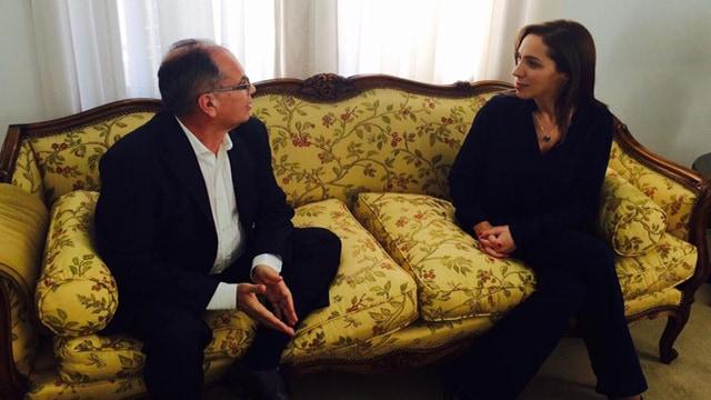 El intendente se reunió con la gobernadora María Eugenia Vidal