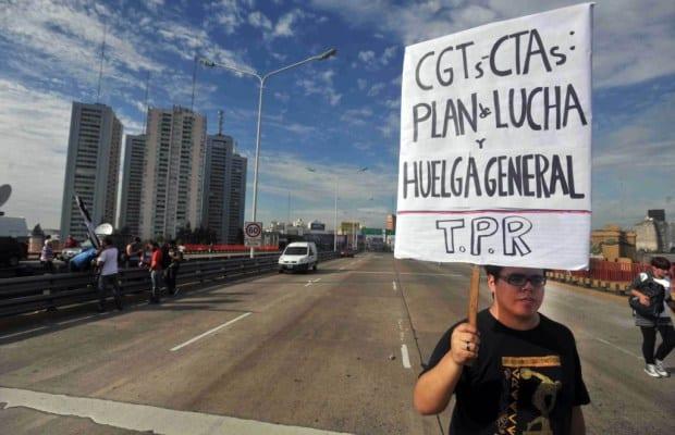 Las centrales obreras anunciarán Paro General y Movilizacíon para el viernes 29