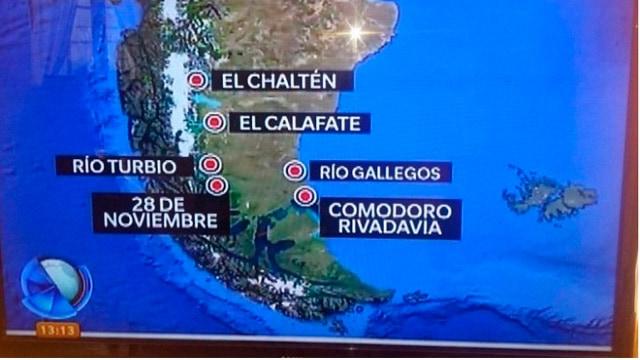 ¿Donde queda Comodoro Rivadavia para los medios nacionales?