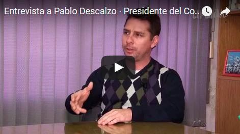 """Entrevistas: Pablo Descalzo a fondo. """"Queremos trabajar con la Gobernadora para mejorar la seguridad"""""""