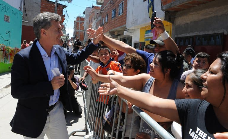 Cambiemos convoca hoy a una marcha en apoyo al Presidente Macri
