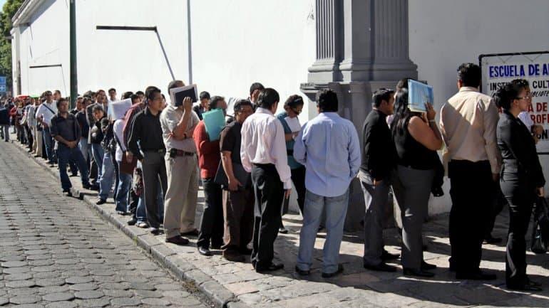 Indec: En ocho meses la desocupación aumentó 3,4 por ciento