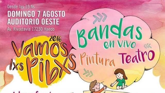 """Nueva edición del Festival """"Vamxs Lxs Pibxs"""""""