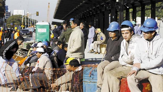 La construcción cayó en su peor nivel en 10 años: 61.371 empleos menos que el año pasado