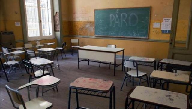 Los docentes se le plantan a Vidal: paro por 3 días desde el próximo lunes