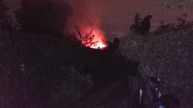 Se incendió una vivienda en pleno centro de Ituzaingó