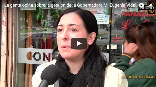 ¿Que piensan los vecinos de Ituzaingó de María Eugenia Vidal?