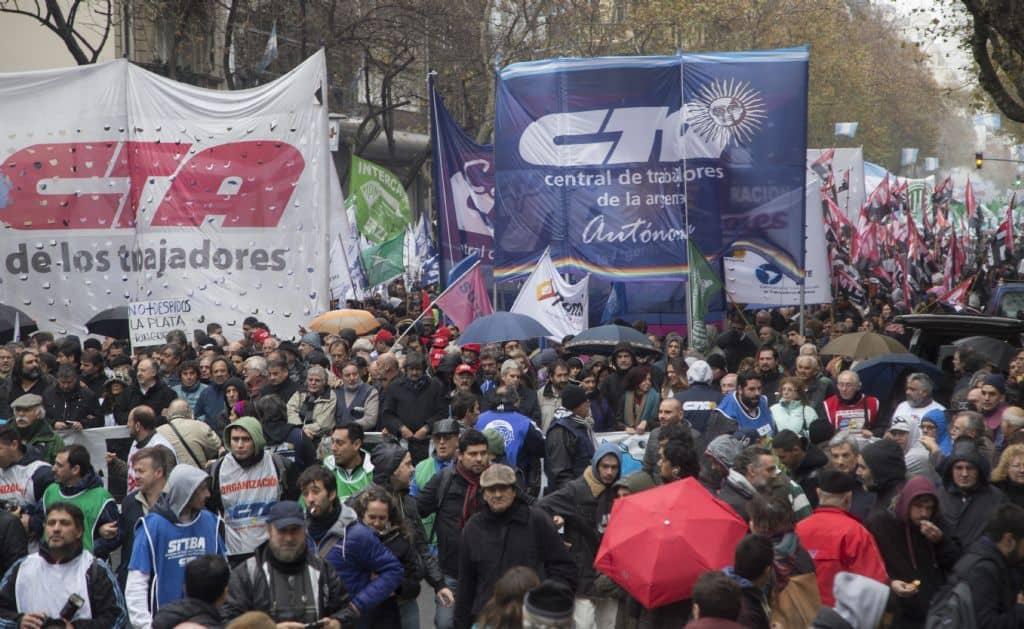Las C.T.A. unidas marcharan hoy a Plaza de Mayo