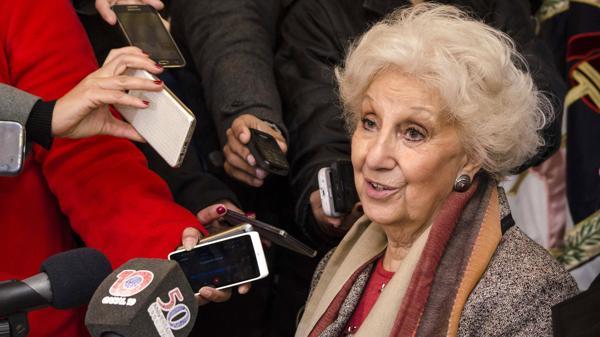 """Estela de Carlotto: """"A nosotras no nos van a destruir"""""""