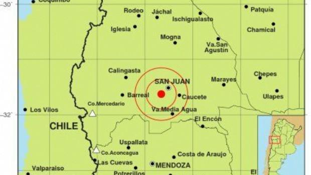 Un fuerte sismo sacudió hace minutos la Provincia de San Juan