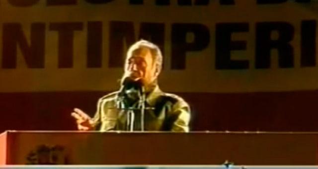 El último discurso de Fidel en Argentina. Julio del 2006
