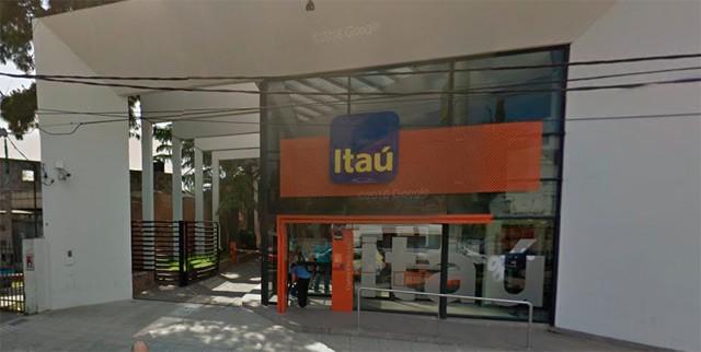 Asaltaron a los mazasos el Banco Itaú de Santa Rosa y Sarmiento