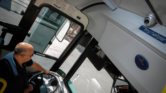 Una ley provincial obliga a los colectivos a instalar cámaras de seguridad en su interior