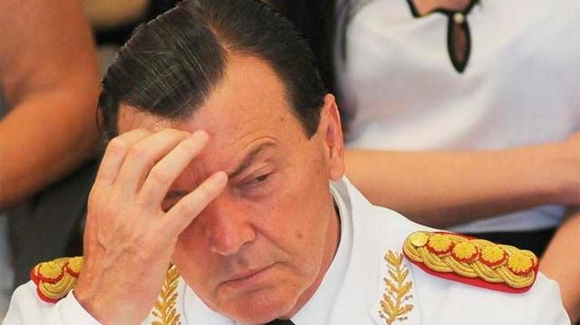 El ex jefe del ejercito Cesar Milani quedó preso en La Rioja
