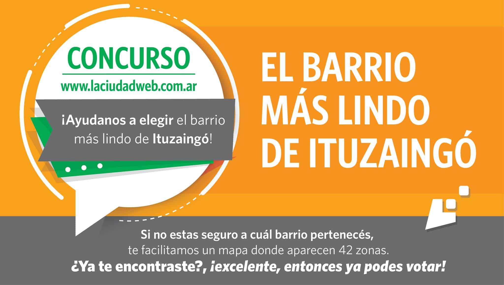 """CONCURSO """"El barrio más lindo de Ituzaingó"""""""