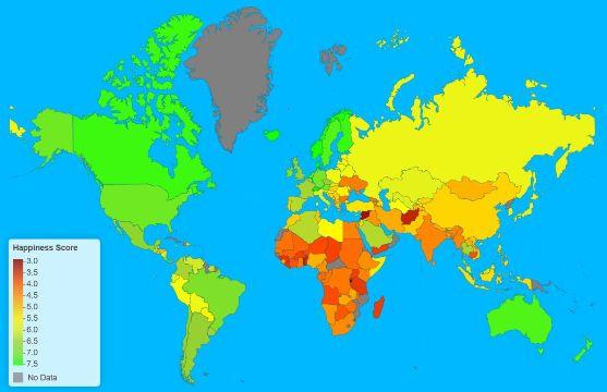 Argentina en el puesto 24 del Reporte Mundial de Felicidad según la ONU