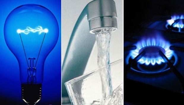 A partir de abril , aumentan el gas y el agua