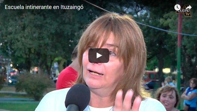 La Escuela Pública Itinerante en Ituzaingó: 60 días de conflicto docente