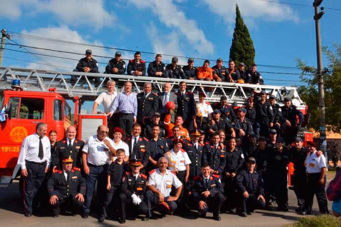 Los bomberos voluntarios de Ituzaingó recibirán capacitación técnica