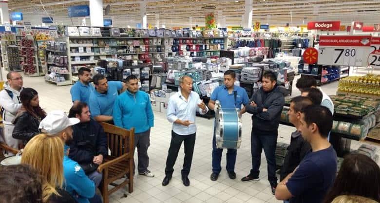 51 despidos en el Walmart de Avellaneda