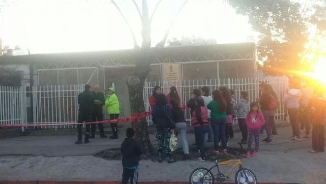 Escape de gas en una escuela de Morón, una maestra en terapia intensiva y alumnos intoxicados