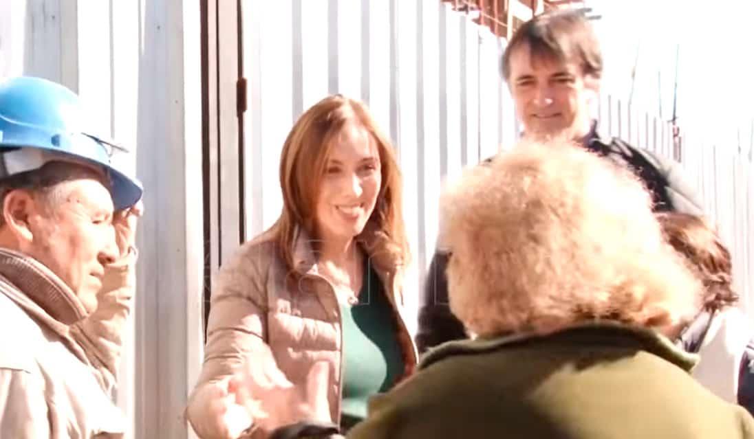 La Gobernadora Vidal recorrió hoy el centro de Ituzaingó