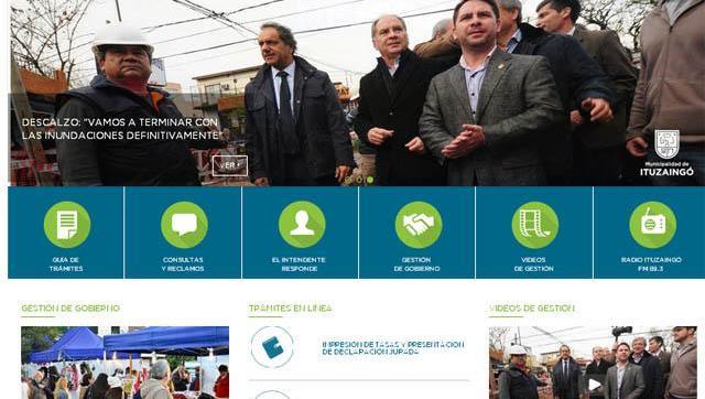 Hackearon la web del Municipio de Ituzaingó y se cayó la página