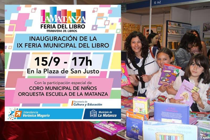 Radio La Ciudad trasmitirá en vivo mañana desde la Feria del Libro de La Matanza