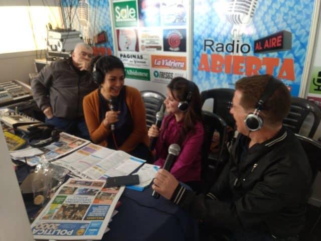 Radio La Ciudad estuvo en la Feria del Libro de La Matanza