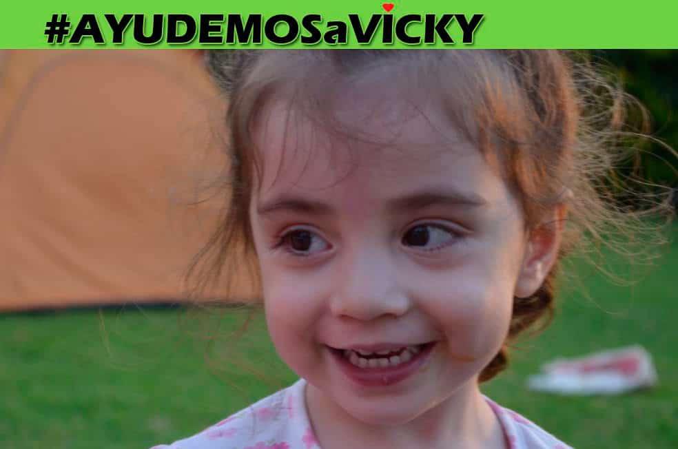 Ayudemos a Vicky, entre todos podemos lograrlo