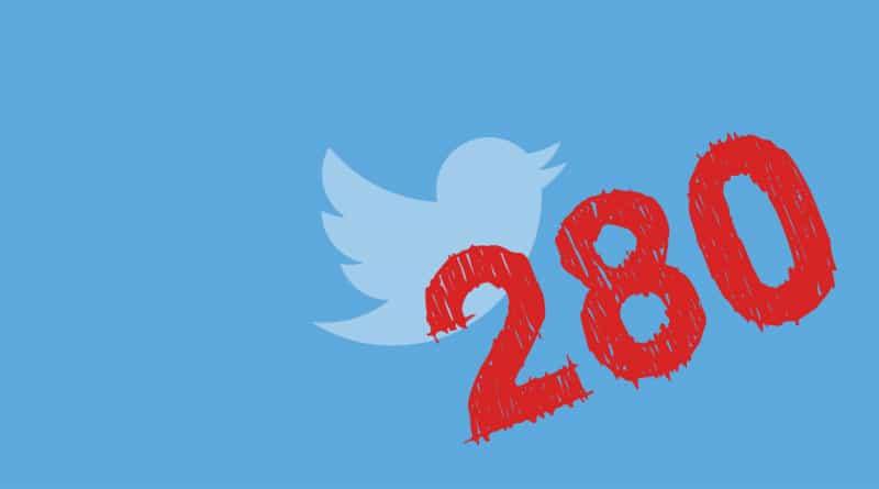 Twitter anunció que permitirá escribir mensajes de hasta 280 caracteres