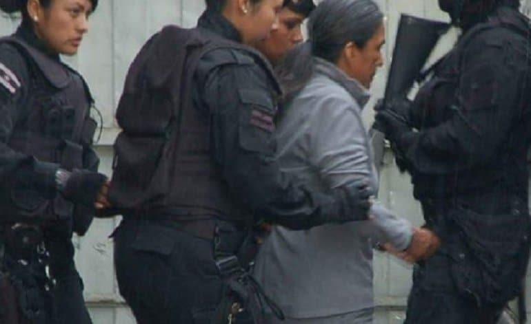 Milagro Sala fue llevada en pijama y descalza a la cárcel de Alto Comedero