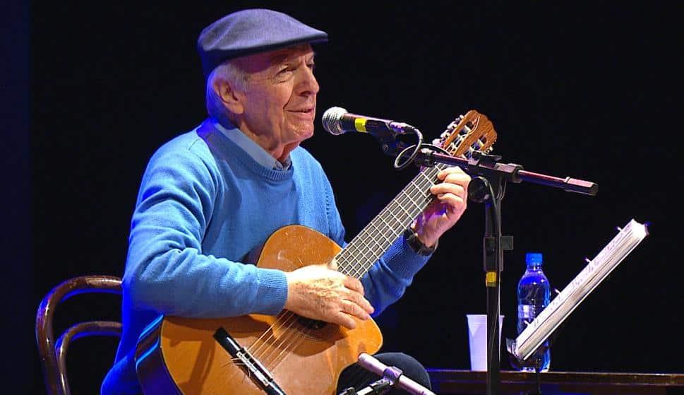 Murió Daniel Viglietti, uno de los máximos artistas uruguayos