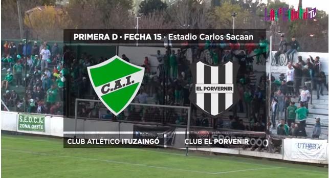 Ituzaingó juega por tercera vez a El Porvenir con buenos pronósticos