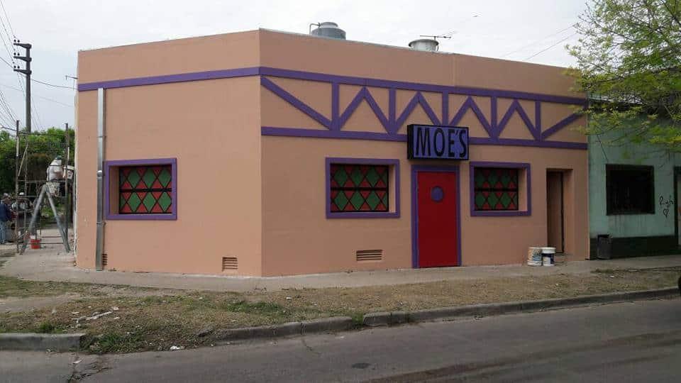 La Taberna de Moe's se inaugura el 13 de diciembre