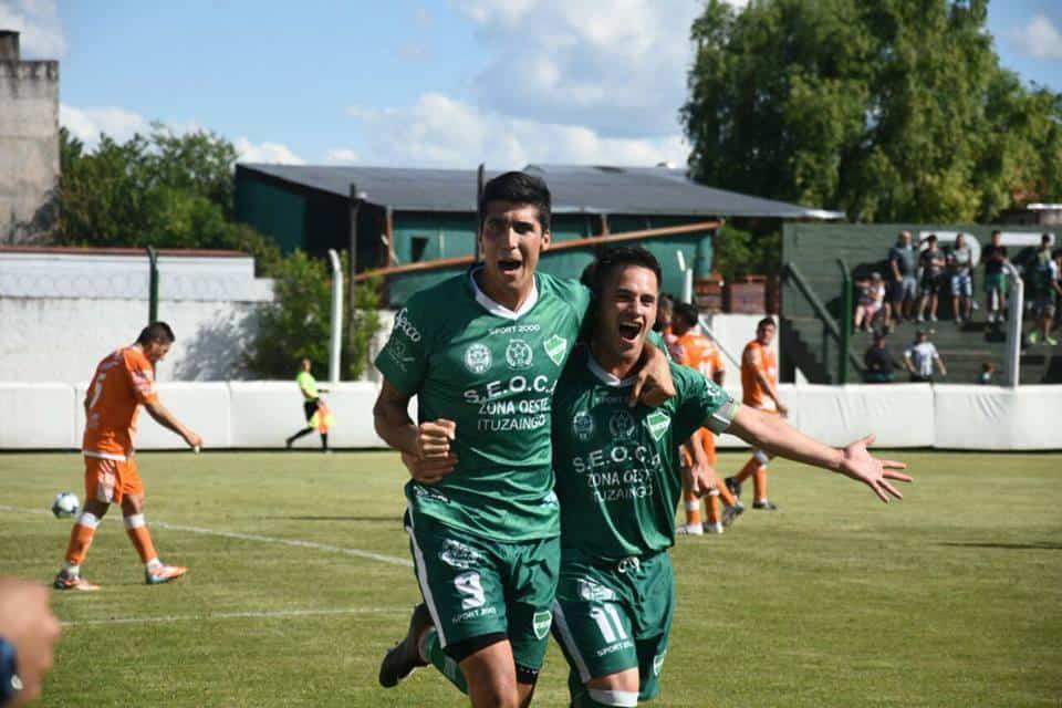 Ituzaingó ganó, gustó y goleó