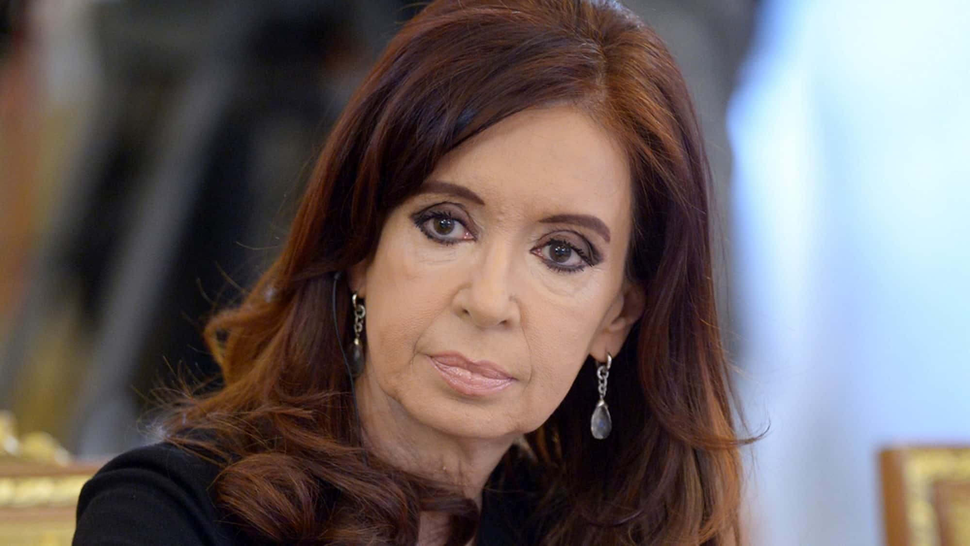 Cristina anunció la formula presidencial