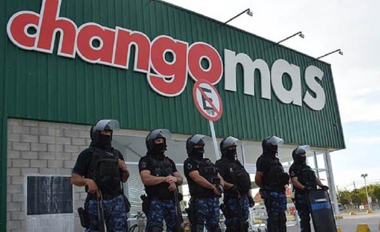 Saqueos en Trelew:  Quisieron entrar a un Changomas