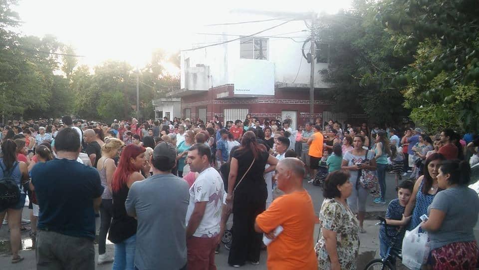 Barrio Nuevo consternado por Sofía, marchó pidiendo seguridad y justicia