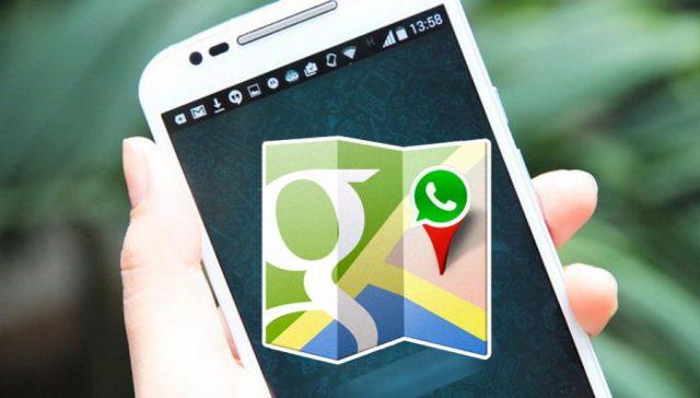 Un mapa puede mostrar en WhatsApp cómo llegar dónde estamos y otras novedades