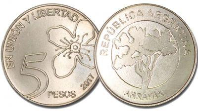 Desde el lunes circularán las nuevas monedas de 5 pesos 4