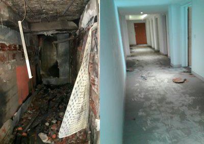 Quieren habilitar el edificio incendiado sin las mínimas garantías de seguridad 3