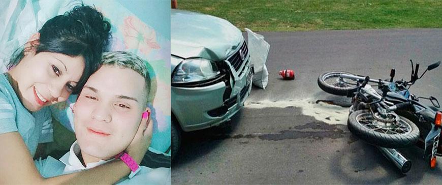 En un accidente fatal en Barrio Nuevo, muere una joven embarazada