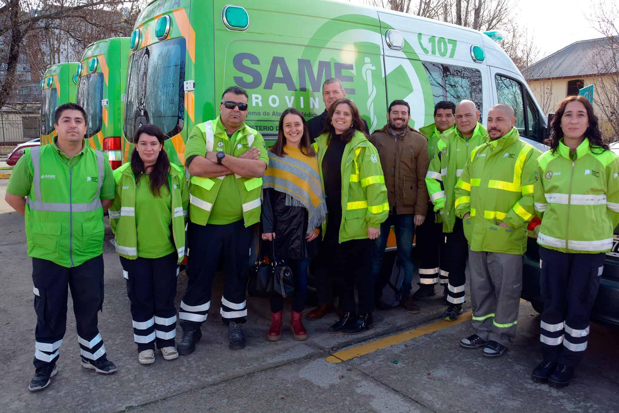 Hay acuerdo para que el SAME llegue a Ituzaingó con 4 ambulancias