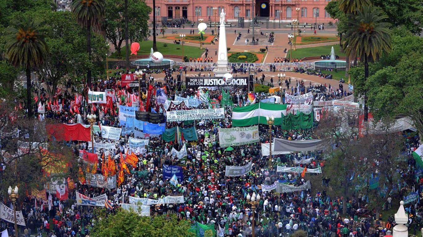 Cambio de fecha: La marcha de los gremios opositores será el miércoles 21 de febrero