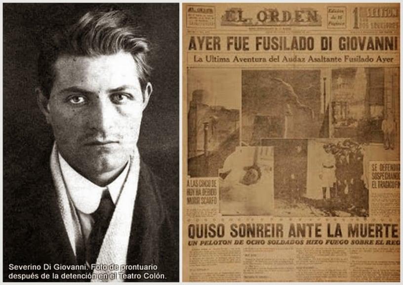 Un día como hoy fusilaban a Severino Di Giovanni, el anarquista más famoso que vivió en Ituzaingó