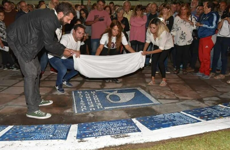 A pesar del mal tiempo se realizó la Vigilia por la Memoria en Ituzaingó