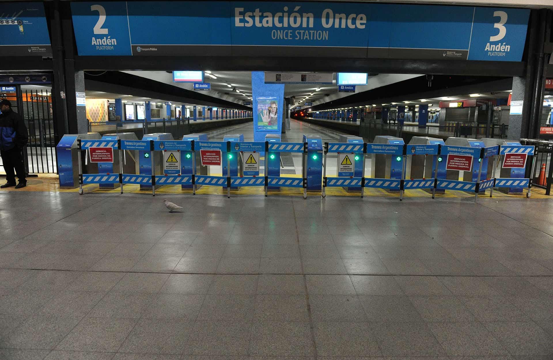 Mañana de 12 a 15 horas habrá paro en el Ferrocarril Sarmiento